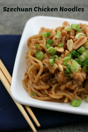 szechuan chicken noodles recipe