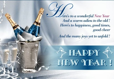 happy new year wishing you all