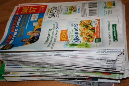 This is what 15 copies of 5 circulars looks like:  AAACK!