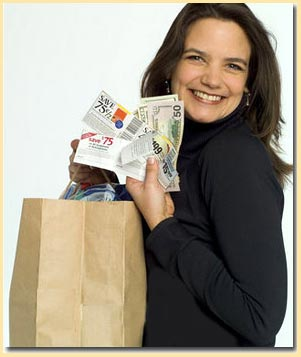 woman-holding-coupons