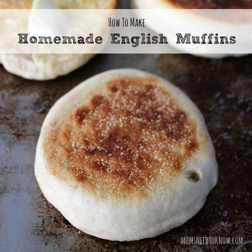 How To Make Homemade English Muffins sq