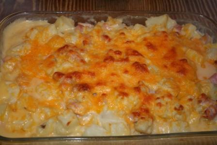 Ham Potato Easter Casserole