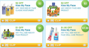 Kiss Face Products on Even More New Coupons  If You Are A Fan Of Kiss My Face Products  You