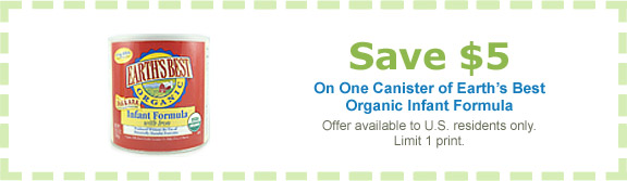 Share This Printable Coupon or Deal Want Great Nutrition For Your Baby?