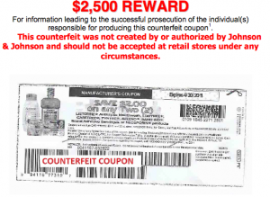 picture regarding Johnson and Johnson Coupons Printable referred to as Potential Fraudulent Coupon Inform: Johnson Johnson Coupon