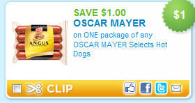 Oscar Mayer Hot Dog Coupon: Publix Deal (PRINT NOW!) HAPPY FRIDAY! I woke up to some seriously FUN coupons, one is for $ off Any TWO (2) OSCAR MAYER Hot Dogs (16oz.)! I am working on the deals now, but if you are a PUBLIX shopper - you will want to grab this one NOW.