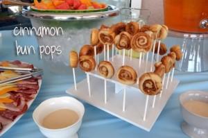 Cinnamon Bun Pops