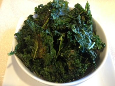 Kicked Up Kale Chips