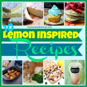 10 Best Lemon Recipes (+ Link Up Your Recipes!)