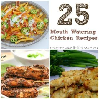 25 Mouthwatering Chicken Recipes (+ Link Up Your Recipes!)