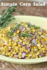 5 Minute Corn Salad