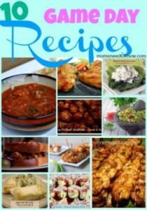 10 Game Day Recipes For Football Parties