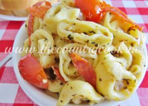 Stovetop Pepperoni Tortellini