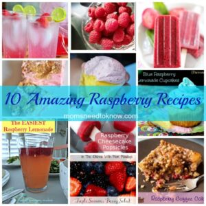 10 Recipes for Raspberries
