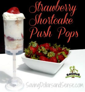 Strawberry Shortcake Pushpops