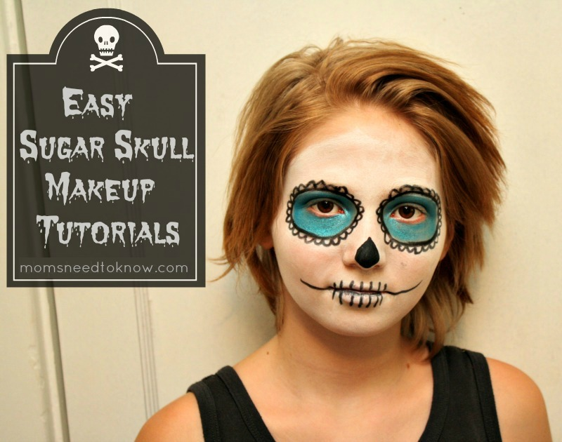 Sugar Skull Makeup Tutorial | Moms Need To Know