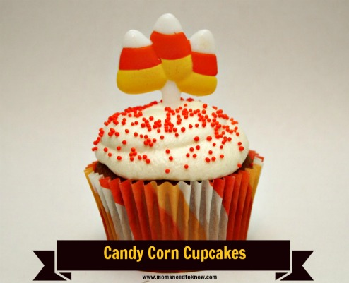 Halloween Cupcake Ideas | Candy Corn Cupcakes + More!
