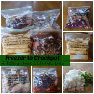 Freezer To Crockpot Cooking | Mexican Recipes and Instructions