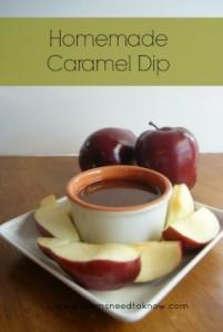 Apple Caramel Dip Recipe | Homemade Caramel Sauce