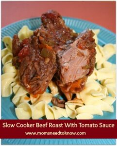 Crockpot Recipes | Beef Roast With Tomato Sauce + More!
