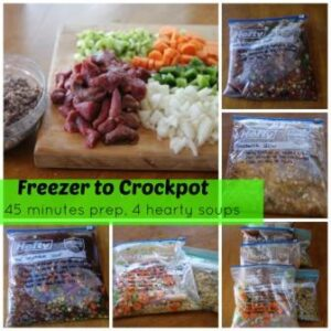 Freezer To Crockpot Cooking | Soups Recipes and Instructions