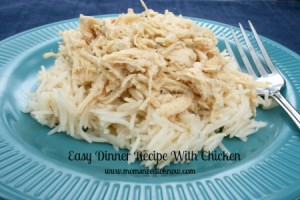 Easy Dinner Recipes With Chicken