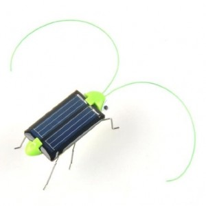 Solar Powered Grasshopper Only $3.72 Shipped!