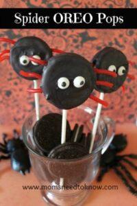 Halloween Spider Oreo Pops!