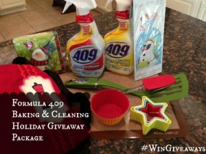 Giveaway | Formula 409 Holiday Baking and Cleaning Gift Pack! #wingiveaways