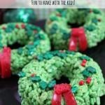 Rice Krispie Treat Wreath