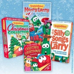 Giveaway | Veggie Tales Holiday Prize Pack #wingiveaways