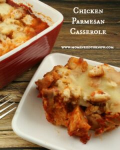 Easy Chicken Casserole Recipe | Chicken Parmesan Recipe