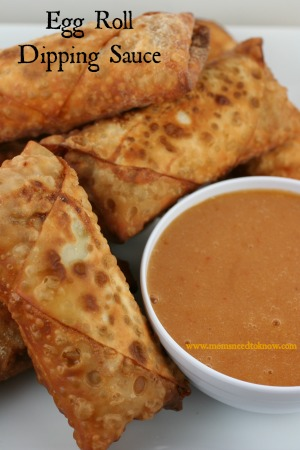 egg roll dipping sauce recipe