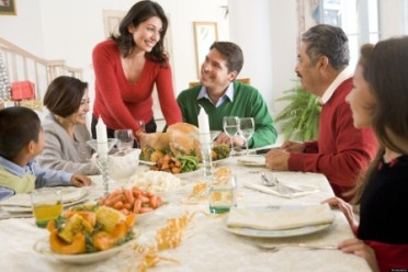 Family All Together At Christmas Dinner; Shutterstock ID 16905337; PO: The Huffington Post; Job: The Huffington Post; Client: The Huffington Post; Other: The Huffington Post