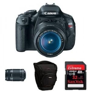 Canon EOS Rebel T3i DSLR Bundle | Just $614 Shipped!