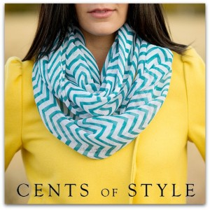 Chevron Infinity Scarf | Just $7.95 Shipped!