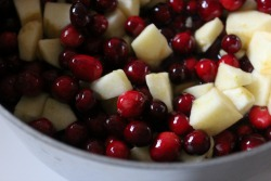 apple-cranberry-cooking
