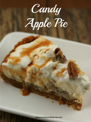 candy apple pie recipe slice