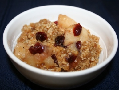 crock-pot-apple-crisp-cranberries