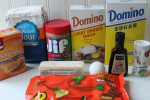 reeses peanut butter cookies ingredients
