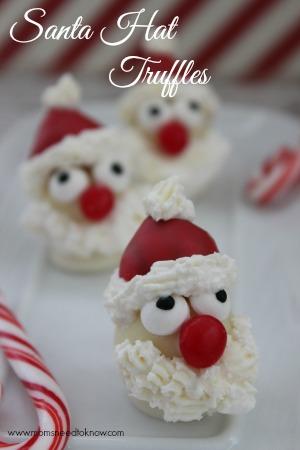 santa-hat-truffles