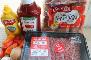 sloppy joe sliders ingredients