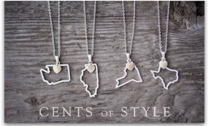 Custom State Necklaces | Just $11.95 Shipped!