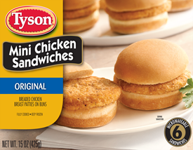 Stay Full With Tyson® Mini Chicken Sandwiches #tysonminis #sponsor