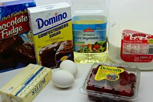brownie hearts ingredients