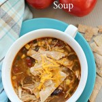 Another family favorite is this crockpot chicken tortilla soup recipe!