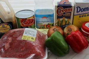 crockpot pepper steak ingredients