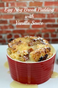egg nog bread pudding recipe