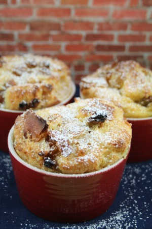 egg nog bread pudding sugar
