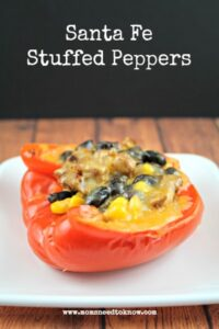healthy dinner recipes santa fe stuffed peppers